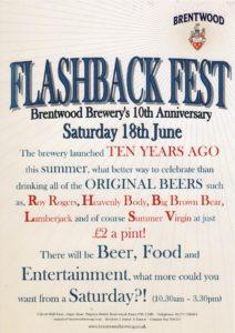 Flashback festival on headed paper